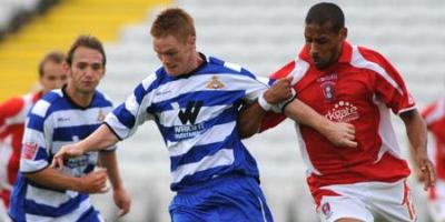 Trialist Jason Walker (picture copywright Steve Uttley - DRFC)