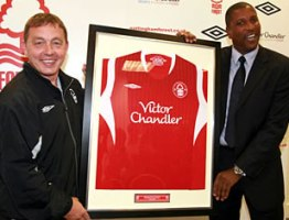 Billy Davies unveils new signing