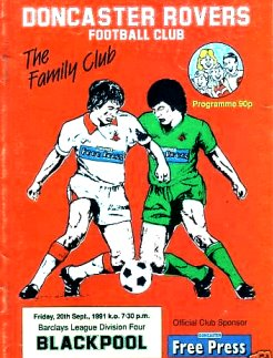Doncaster Rovers v Blackpool