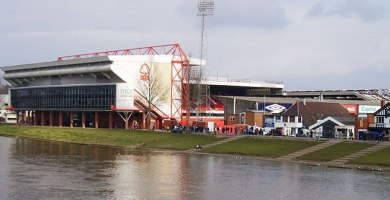 As close as the FA would like us to get to The City Ground